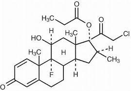 formula del clobetasolo