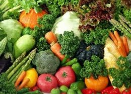 verdura fresca di stagione
