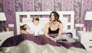 lattanti a letto