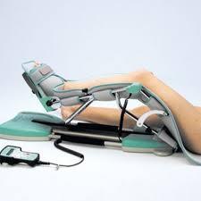 Kinetec apparecchio per riabilitazione del ginocchio