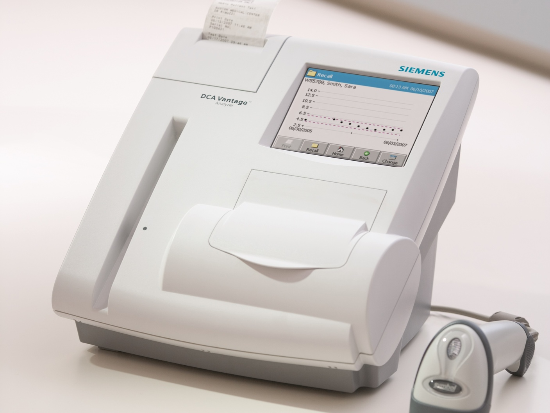 analizzatore emoglobina glicata