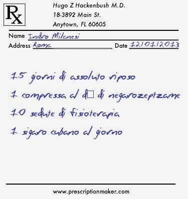 ricetta medica